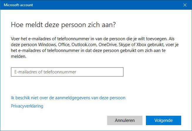 windows 10 zonder wachtwoord inloggen