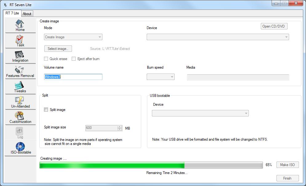 Windows 7 installatieschijf maken