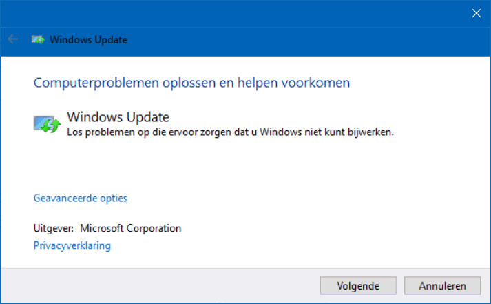 Problemen met Windows Update oplossen