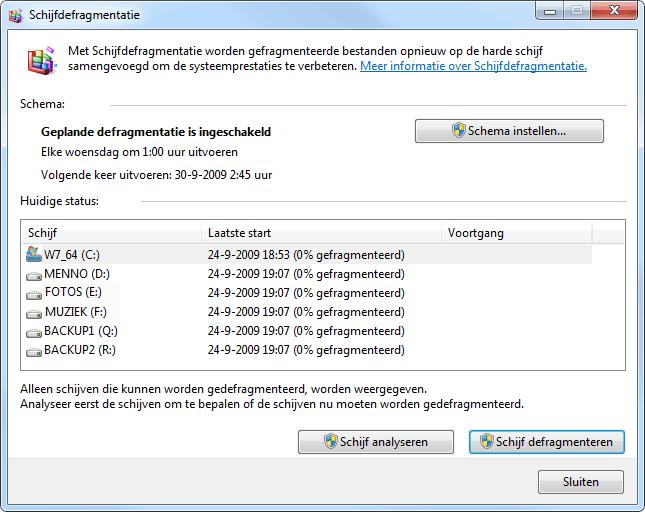 Harde Schijf Splitsen Windows 7.Schijfopruiming En Schijfdefragmentatie In Windows 7